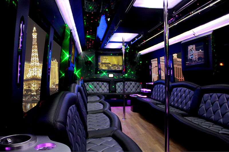 mike roz - 31 PARTY BUS INSIDE