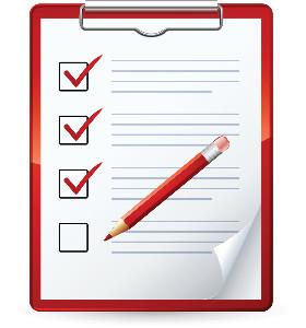 picture of a checklist