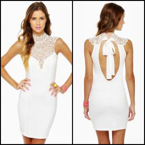 white prom dress 2013