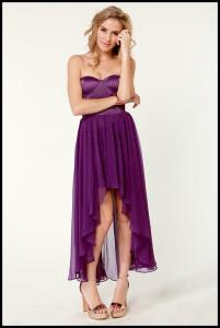 Chiffon Layer prom dress