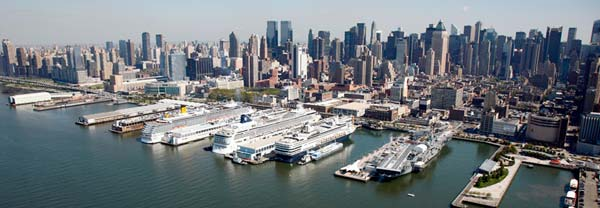 Manhattan cruise terminal transportation