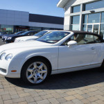 bentley continental wedding rental