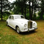 vintage rolls royce wedding